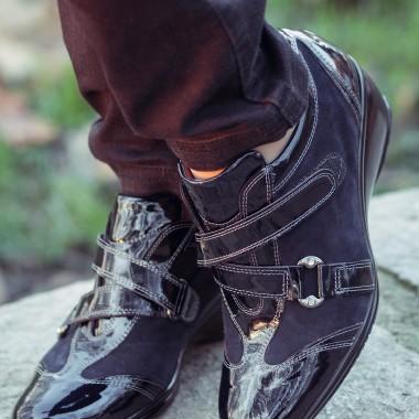Sneakers Confort vernice